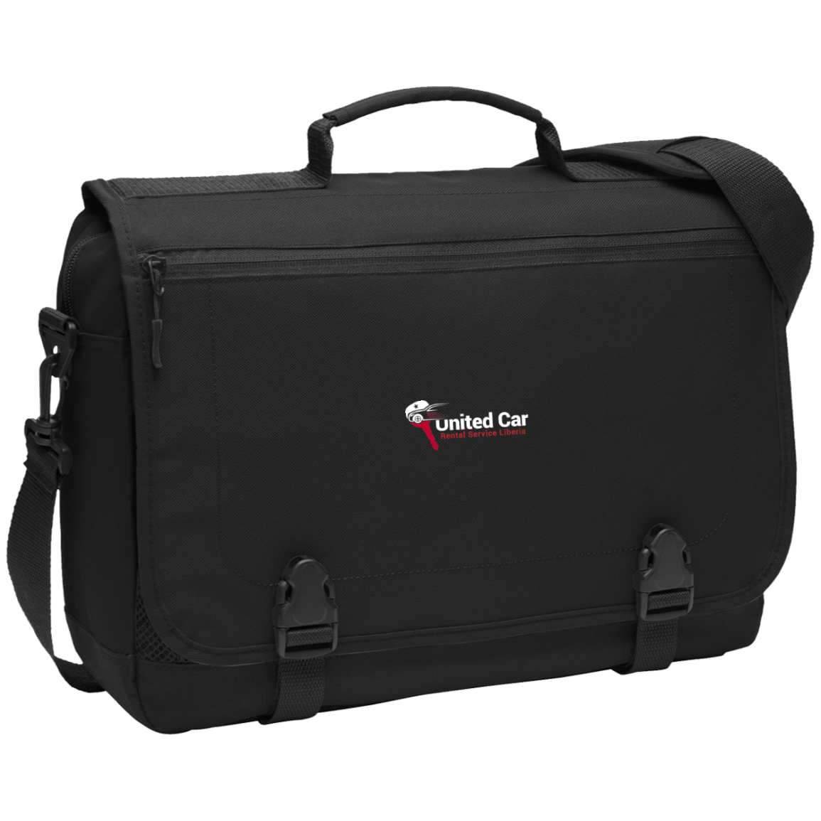 United Car Rental Service Liberia Messenger Briefcase