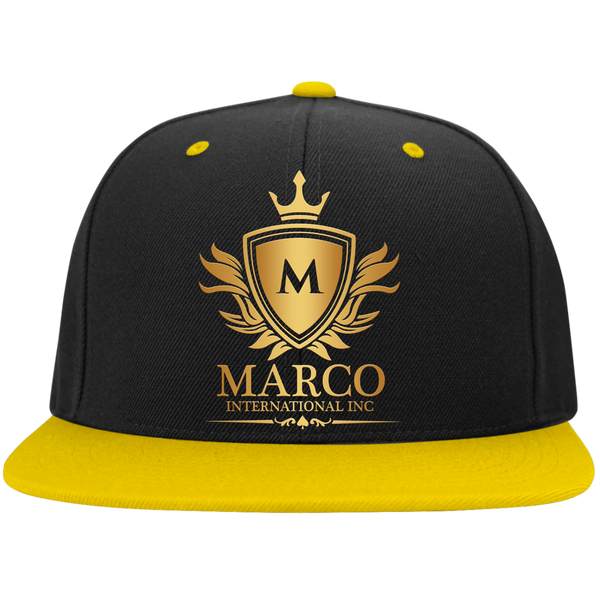 MARCO INTL High-Profile Snapback Hat