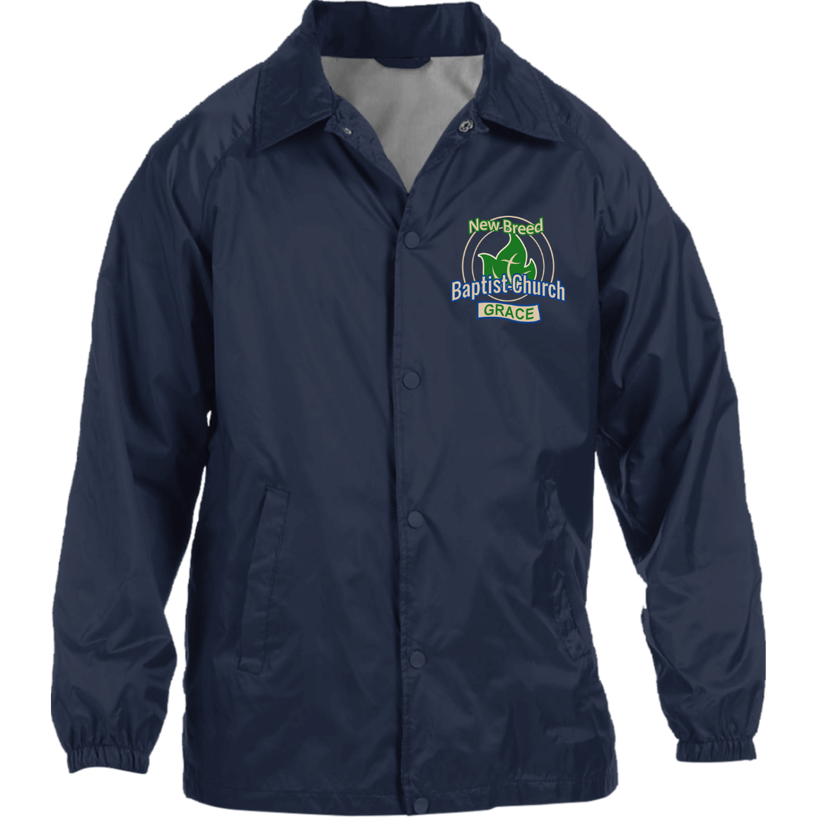 New Breed Baptist Grace Nylon Staff Jacket