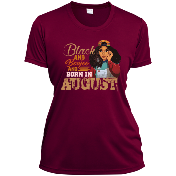 Black And Boujee And Born In August T-Shirt