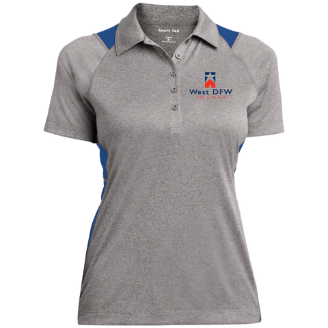 West DFW REI Ladies' Heather Moisture Wicking Polo