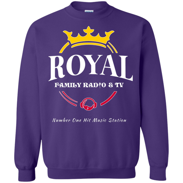 Royal Family Crewneck Pullover Sweatshirt  8 oz.