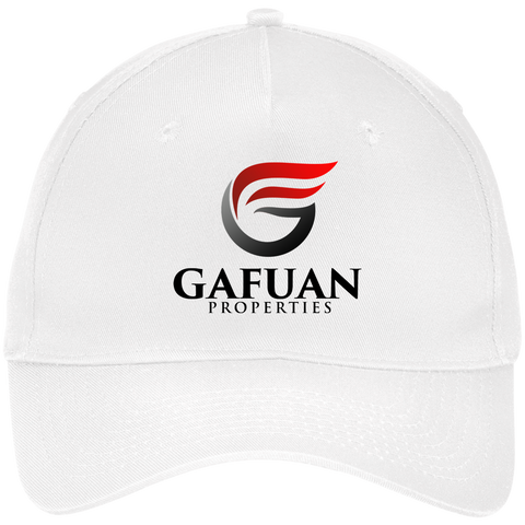 Gafuan Five Panel Twill Cap