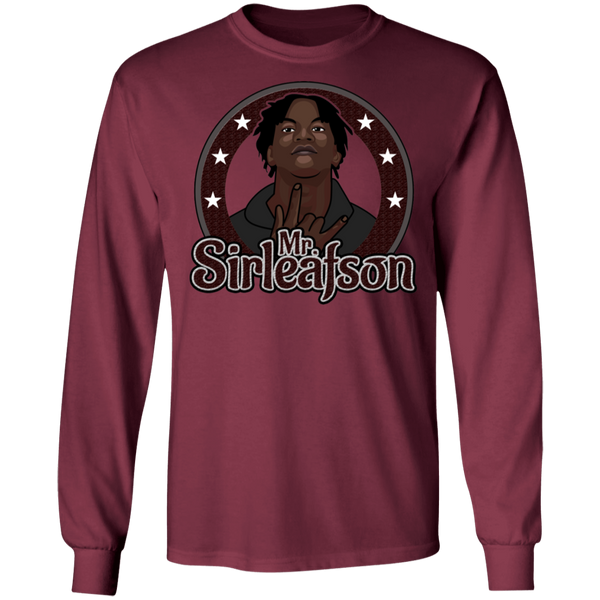 Mr Sirleafson LS Ultra Cotton T-Shirt