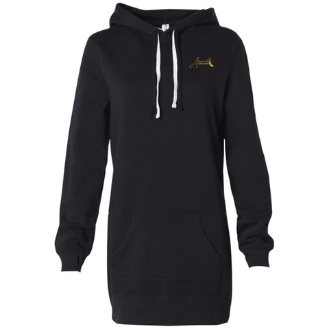 House of Atarah logo House of Atarah Women's Hooded Pullover Dress