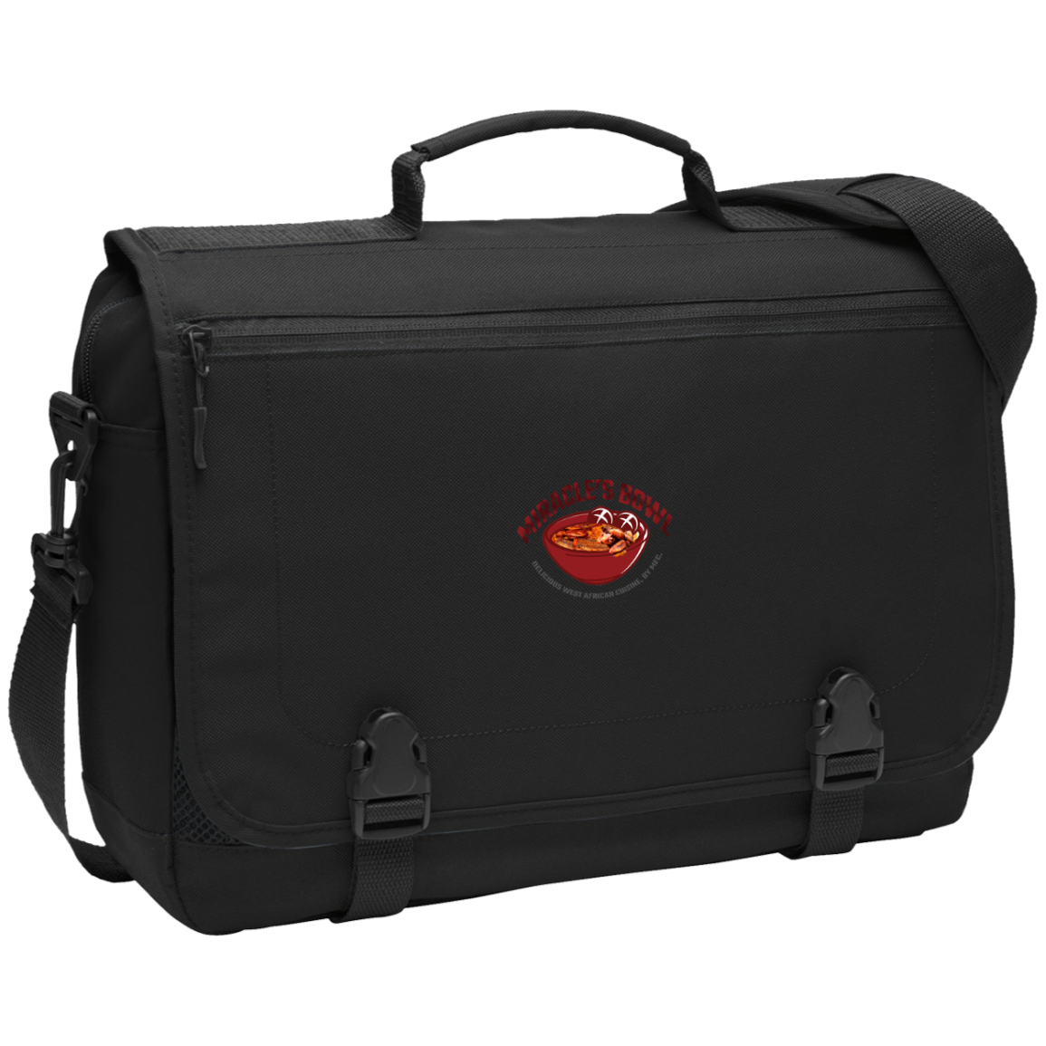 Miracle's Bowl Messenger Briefcase