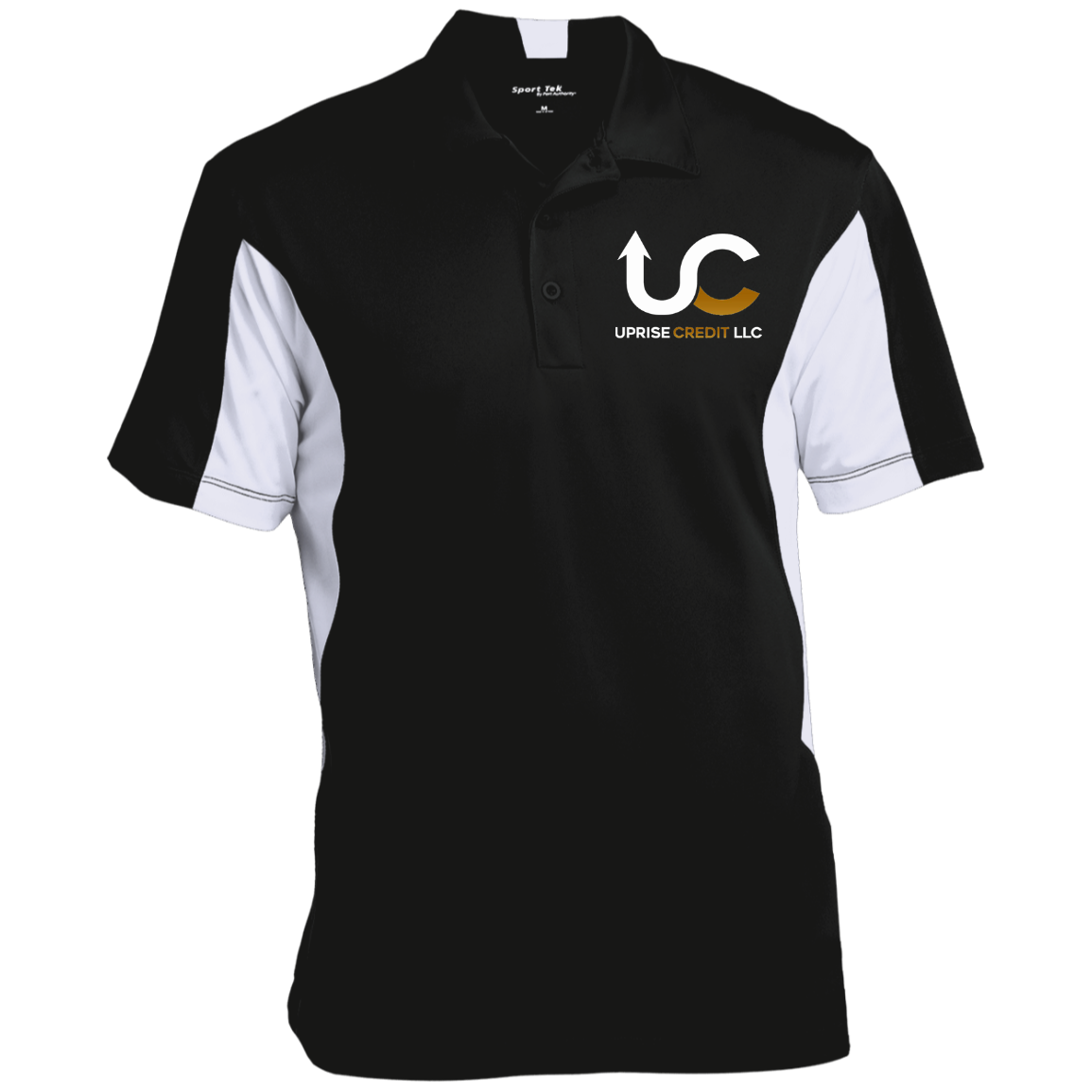 Uprise Credit Men's Colorblock Performance Polo