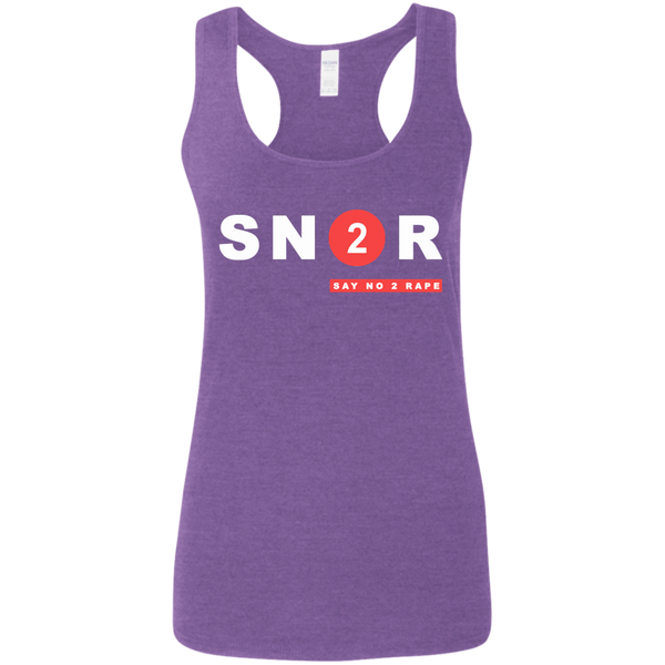 SN2R Ladies' Softstyle Racerback Tank