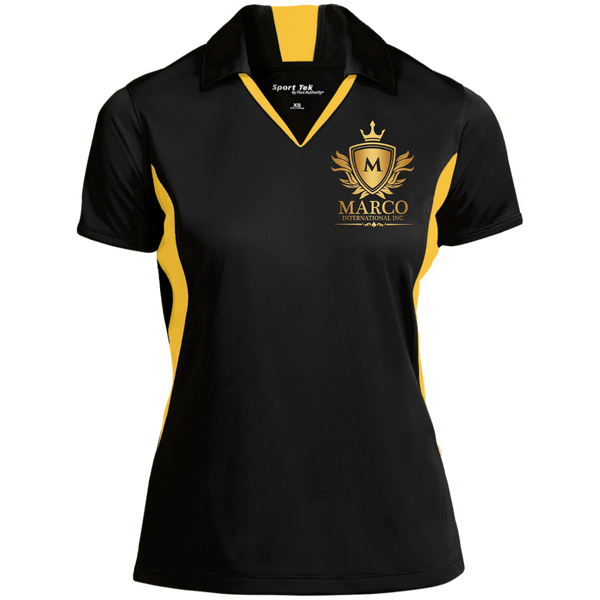 MARCO INTL Ladies' Colorblock Performance Polo