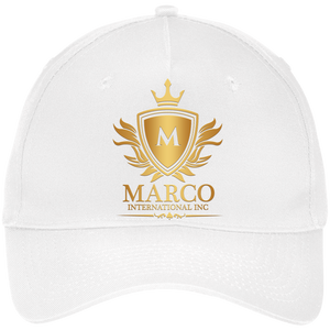 MARCO INTL Five Panel Twill Cap