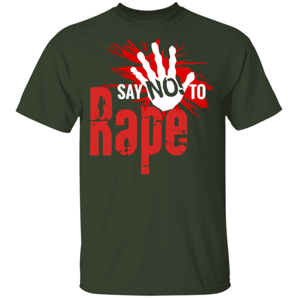 Say No To Rape 100% Cotton T-Shirt