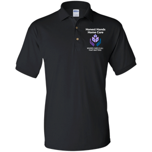 HONEST HANDS HOME CARE Jersey Polo Shirt