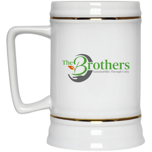 The Brothers Beer Stein 22oz.
