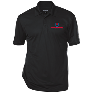 ST695 Performance Textured Three-Button Polo