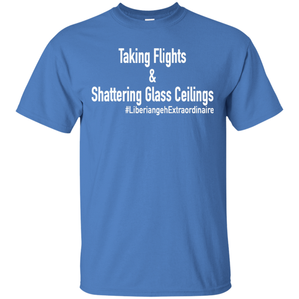 Taking Flights & Shattering Glass Ceilings T-Shirt T-Shirt