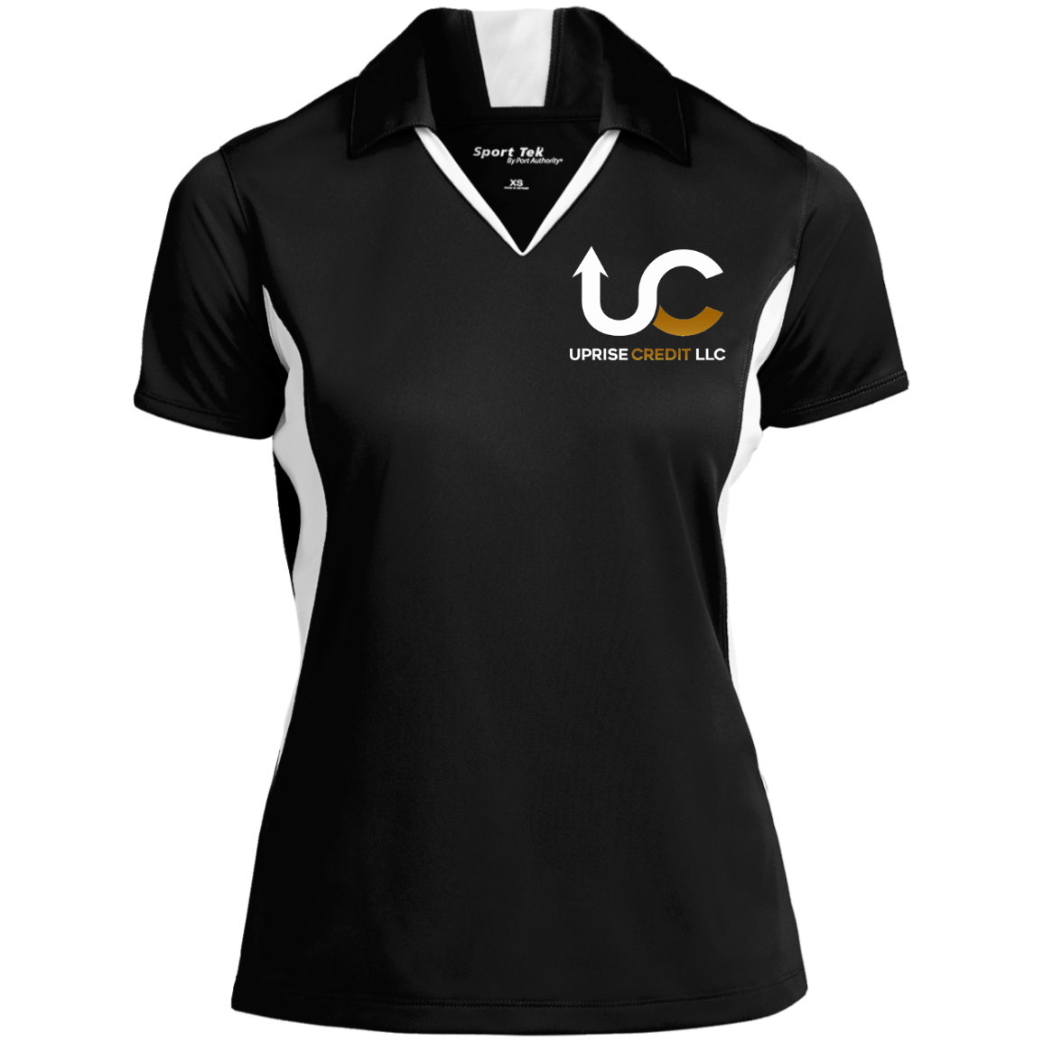 Uprise Credit Ladies' Colorblock Performance Polo
