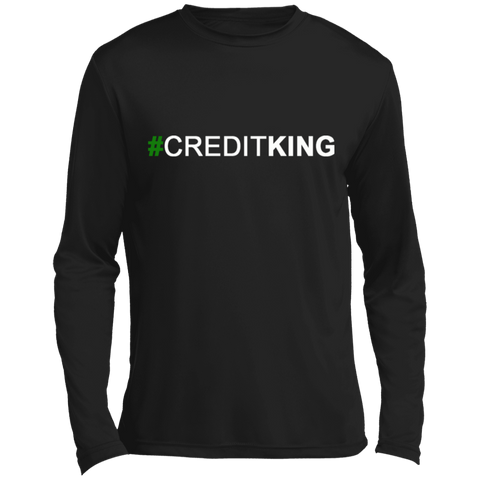 #CREDITKING Long sleeve Moisture Absorbing T-Shirt
