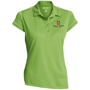 West DFW REI Ladies' Contrast Stitch Performance Polo