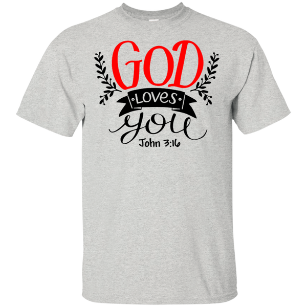 God Loves You/CTM T-Shirt