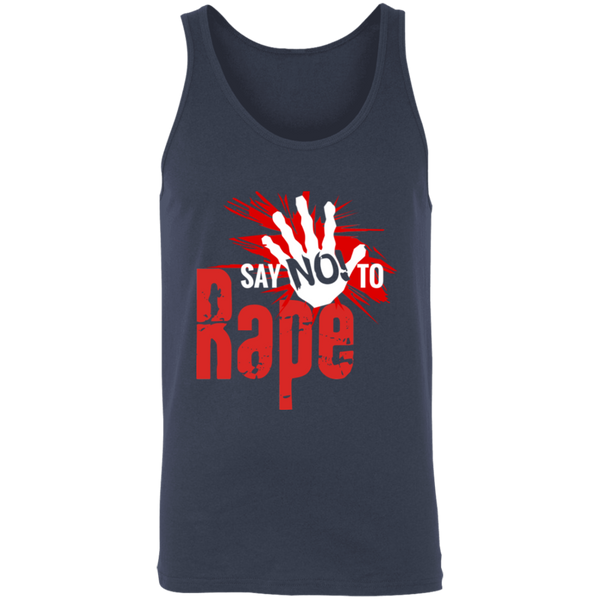 Say No To Rape Unisex Tank
