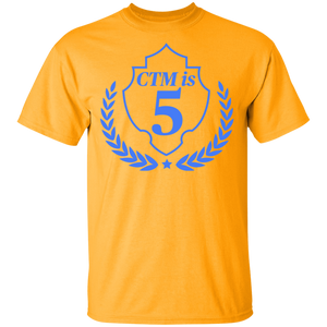CTM Is 5 T-Shirt Gold