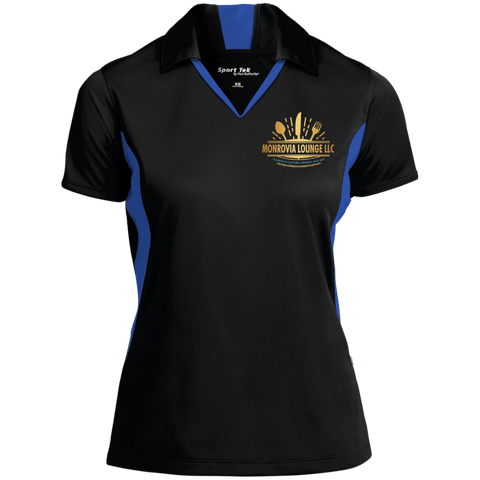 Monrovia Lounge Ladies' Colorblock Performance Polo