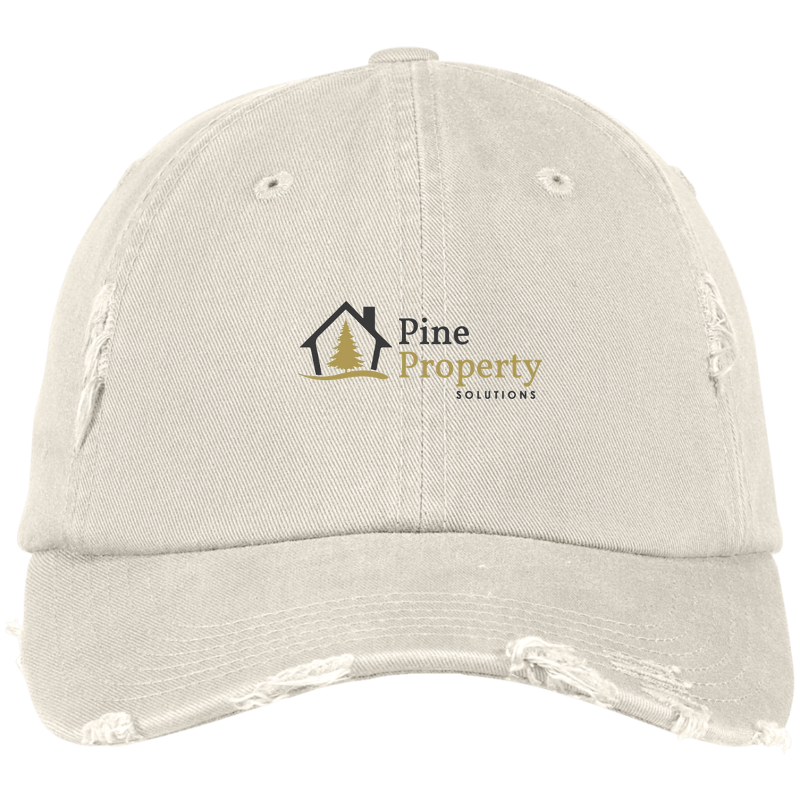 Pine Property Distressed Dad Cap