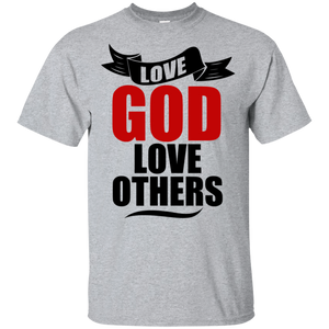 God Loves You/Team Nathaniel T-Shirt Front/Back