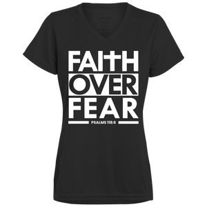Faith Over Fear Ladies' Wicking T-Shirt