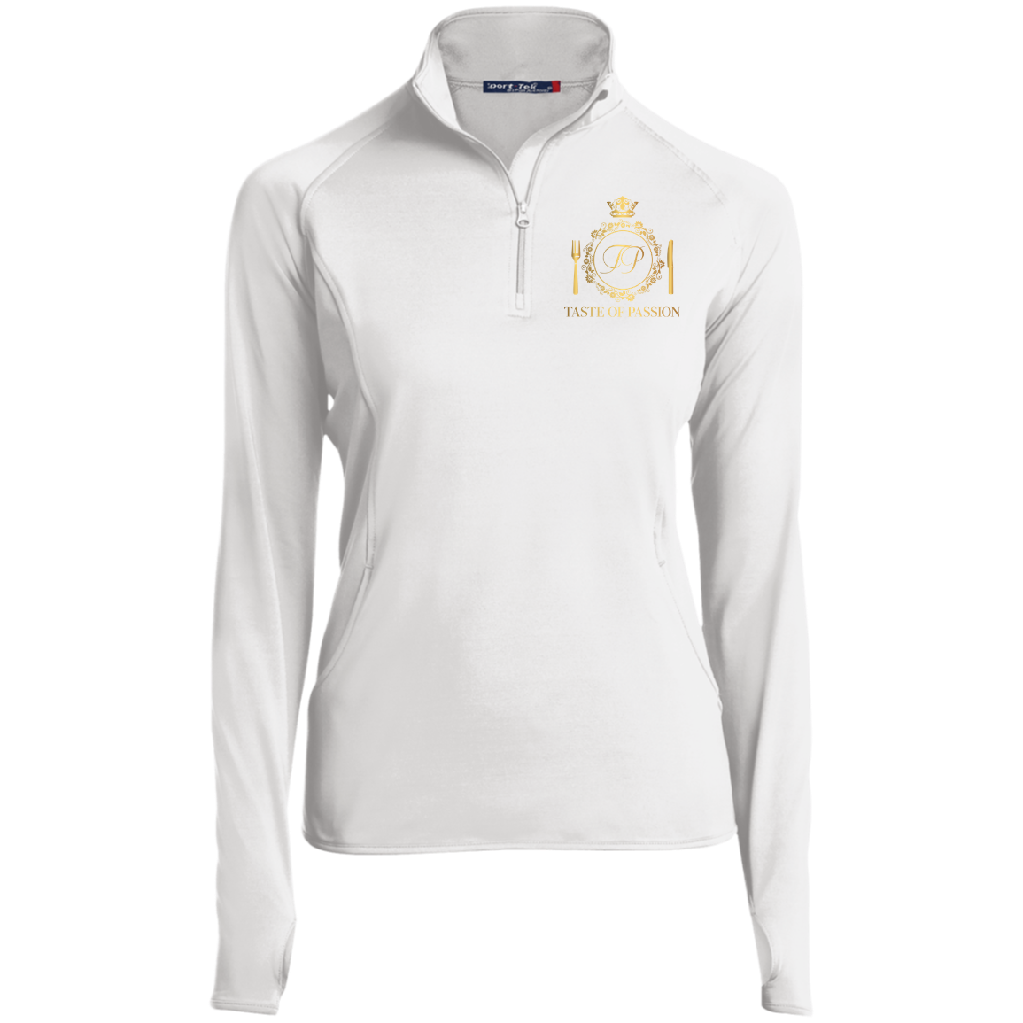 Taste of Passion Women's 1/2 Zip Performance Pullover