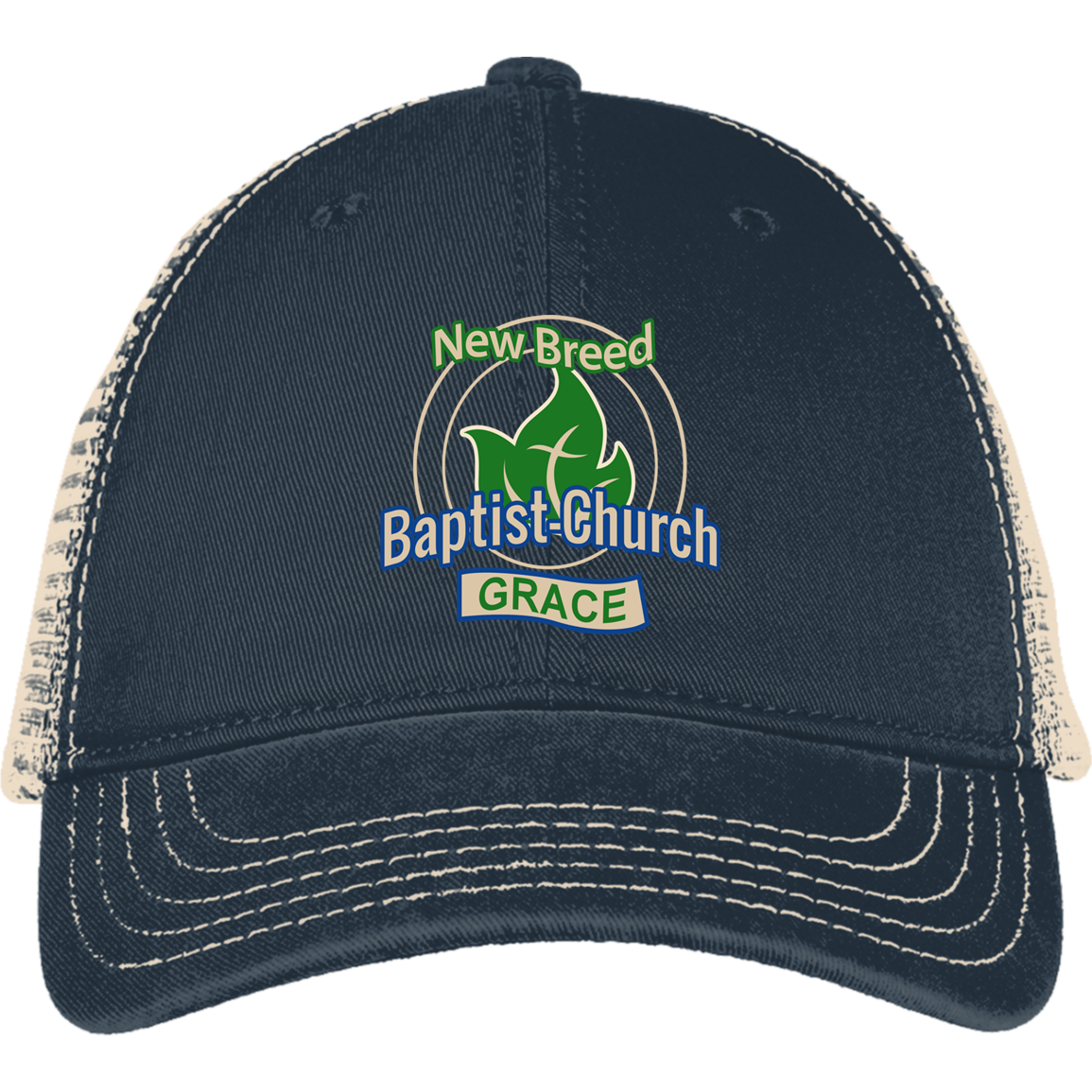 New Breed Baptist Grace District Mesh Back Cap