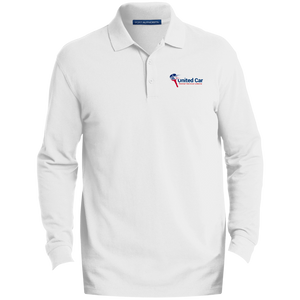 United Car Rental Service Liberia Men's EZCotton™ LS Polo