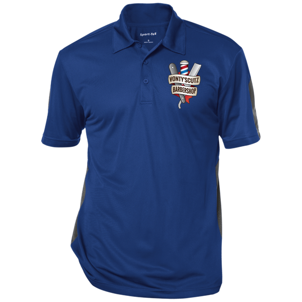 Vonty's Barbershop Performance Textured Three-Button Polo