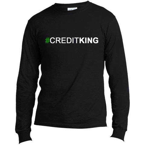 #CREDITKING Long Sleeve Made in the US T-Shirt
