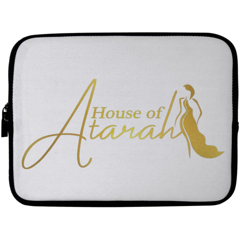 House of Atarah logo House of Atarah Laptop Sleeve - 10 inch