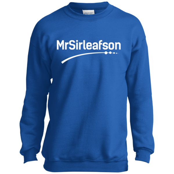 MrSirleafson Youth Crewneck Sweatshirt