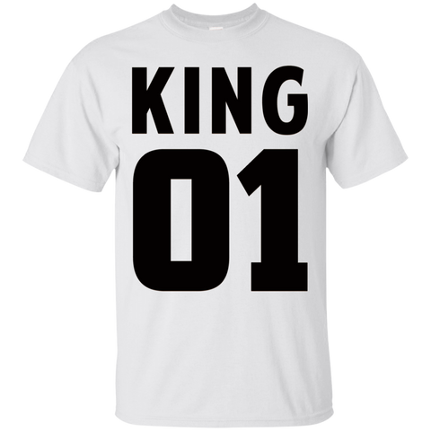 King 01 Back & Front T-Shirt