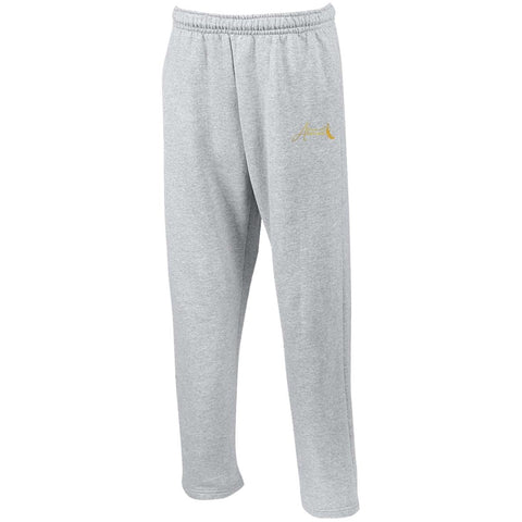House of Atarah logo House of Atarah Open Bottom Sweatpants with Pockets