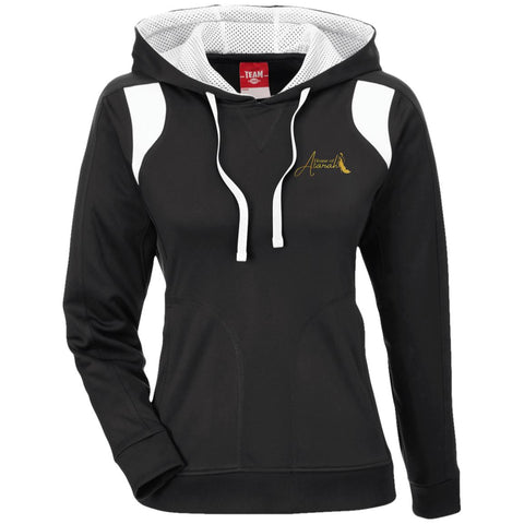 House of Atarah logo House of Atarah Ladies' Colorblock Poly Hoodie