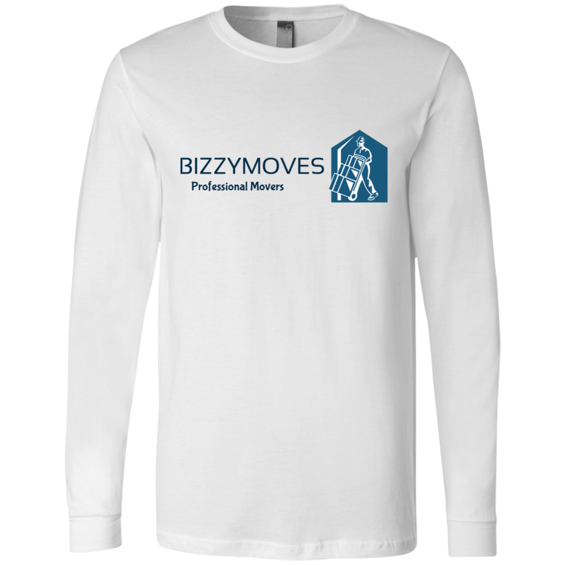 BIZZYMOVES Men's Jersey LS T-Shirt