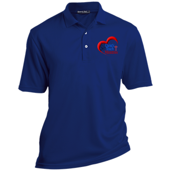 CTM Dri-Mesh Short Sleeve Polo