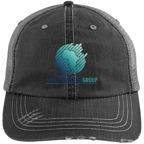 1 SN Motherland Distressed Unstructured Trucker Cap
