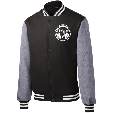 DJ Fanz Fleece Letterman Jacket