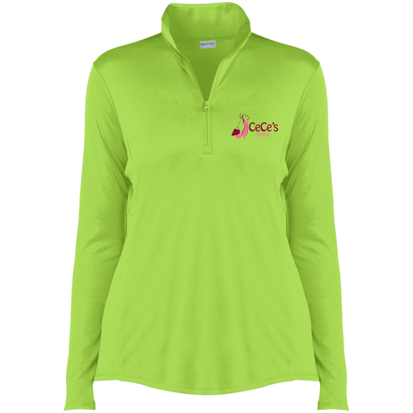 CeCe's Brand Ladies' Competitor 1/4-Zip Pullover