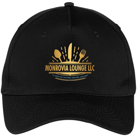 Monrovia Lounge Five Panel Twill Cap