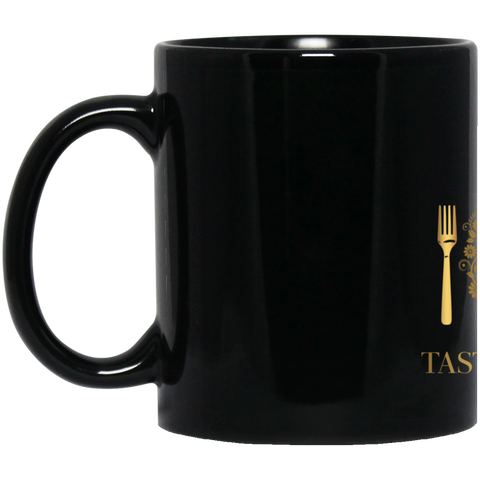 Taste of Passion 11 oz. Black Mug