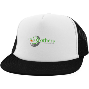 The Brothers Trucker Hat with Snapback