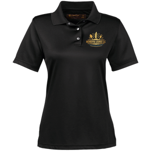 Monrovia Lounge Ladies' Snap Placket Performance Polo