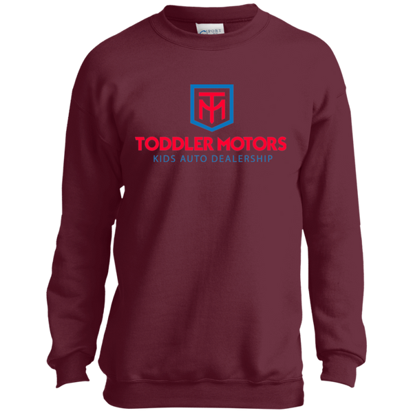 Toddler Motors Youth Crewneck Sweatshirt