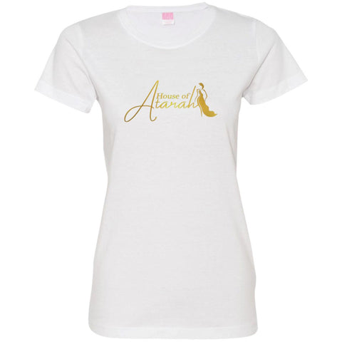 House of Atarah logo House of Atarah Ladies' Fine Jersey T-Shirt
